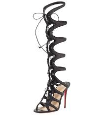 nicki minaj rocks christian louboutin gladiator sandals fausto