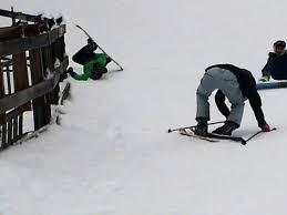 Skiing Meme - i snowboard my friend skis we decided to swap imgur