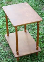 Chalk Paint Side Table Annie Sloan Chalk Paint Project Bee Print Side Table The