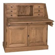 bureau en bois massif bureau à 5 tiroirs en bois massif demeure et jardin
