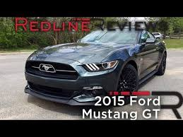 ford com 2015 mustang 2015 ford mustang gt redline review