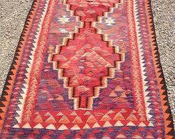 Red Tribal Rug Tribal Rug Kilim Moroccan Persian Vintage By Dreamhousetaos