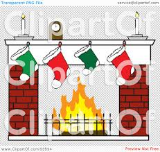 royalty free rf clipart illustration of a clock and candles over