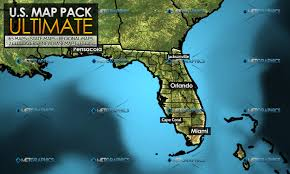 Cape Coral Florida Map Metgraphics Weather Graphics Photoshop Templates U0026 More