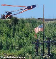 roadside memorial crosses descansos highway fatality memorials