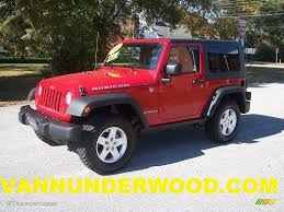 rubicon jeep red 2010 flame red jeep wrangler rubicon 4x4 40218482 gtcarlot com