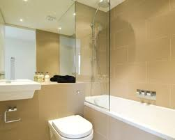 beige bathroom ideas photo of beige white bathroom with bath floating sink shower tiles