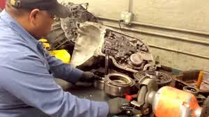 transmission disassembled gm 400 youtube
