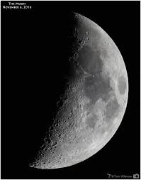 quarter moon or a half moon moon phases earthsky