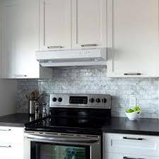 white tile backsplash kitchen tile backsplashes tile the home depot