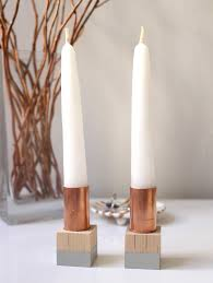 17 crafty ways to display candles in your home
