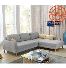 canapé d angle avec méridienne canapé d angle avec méridienne en tissu gris convertible en lit