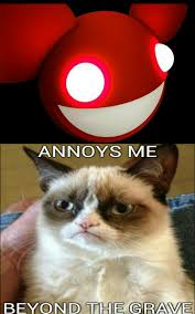 Grumpy Cat Yes Meme - deadmau5 annoys grumpy cat beyond the grave grumpy cat know
