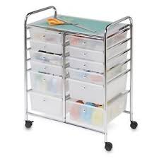 Arts And Crafts Storage Cabinet by Art Supply Cart Ebay