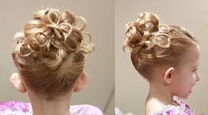 cute girl hairstyles diy how to do cute chain updo princess hairstyle cute girls