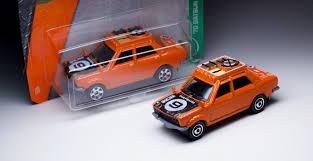 nissan datsun old model variation alert matchbox datsun 510 rally with 6 spoke wheels