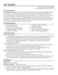 Resume Sample Executive by Professional Enrolled Agent Templates To Showcase Your Talent
