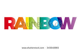rainbow logo stock images royalty free images u0026 vectors
