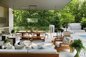 Outdoor Entertaining Spaces - patio and outdoor space design ideas photos architectural digest
