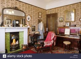 glasgow the tenement house period sitting room scotland uk