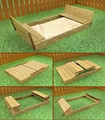Backyard Sandbox Ideas Sandbox Plans Adorable Sandbox Plans And 32 Best Ece Diy