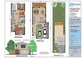 luxury home plans for narrow lots narrow lot luxury house plans