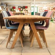 buy delta oak dining tables unusual furniture burford garden