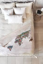 sherpa fleece throw blanket deny designs