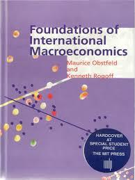 obstfeld e rogoff foundations of international macroeconomics