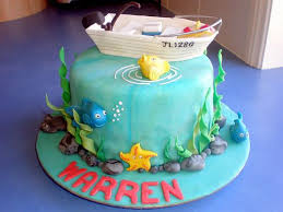 45 best fishing boat cakes images on pinterest boat cake