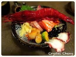 cuisine vitr馥 玄馥日本料理 台北美食推薦 玄馥日本料理橫躺碗中央霸氣紅通通胭脂蝦威