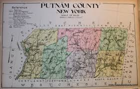 New York Counties Map Putnam County New York Antique Maps And Charts U2013 Original