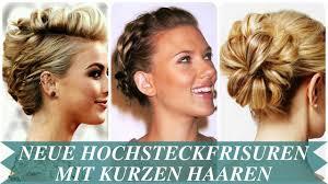 Hochsteckfrisurenen Mit D Nen Haaren by Neue Hochsteckfrisuren Mit Kurzen Haaren