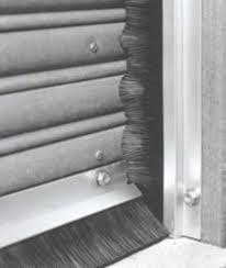 Garage Door Strip Seal by Garage Door Brush Seal Wageuzi