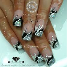 black white and silver nail art how you can do it at home