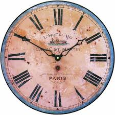 amazon com roger lascelles french hotel design wall clock 14 2