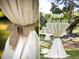 wedding linen burlap and linen wedding reception tables this a great option for