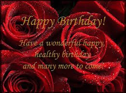 happy birthday card with red roses gallery yopriceville high