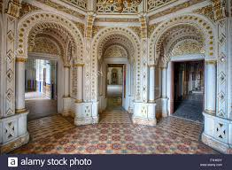 Palace Interior Moorish Style Palace Interior Architecture Stock Photo Royalty