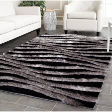 Cool Modern Rugs by Amazon Com Safavieh 3d Shag Collection Sg551e Handmade Black And