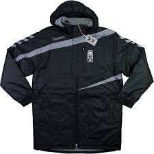Bench Padded Jacket 2015 16 Real Oviedo Hummel Padded Bench Jacket Bnib 3xl