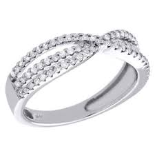 infinity wedding band 10k white gold diamond infinity wedding band twisted engagement