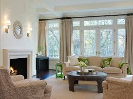 Living Room Drapes And Curtains Family Room Traditional With - Curtains family room
