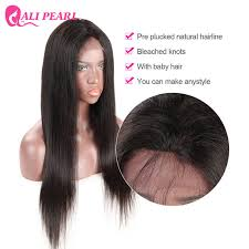 how to make baby hair ali pearl lace wig 180 density pre plucked