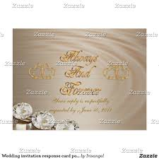 Wedding Invitations With Response Cards Wedding Invitation Response Card Postcard Response Cards