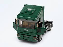 lego mini cooper iveco truck bricksafe
