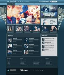 responsive radio station html template on behance