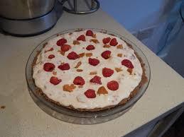 raspberry honeycomb ice cream pie cooking is messy