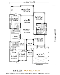 modern single story house plans home design 5 bedroom house plans single story designs excerpt