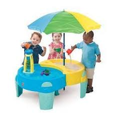 step2 shady oasis sand and water play table toys